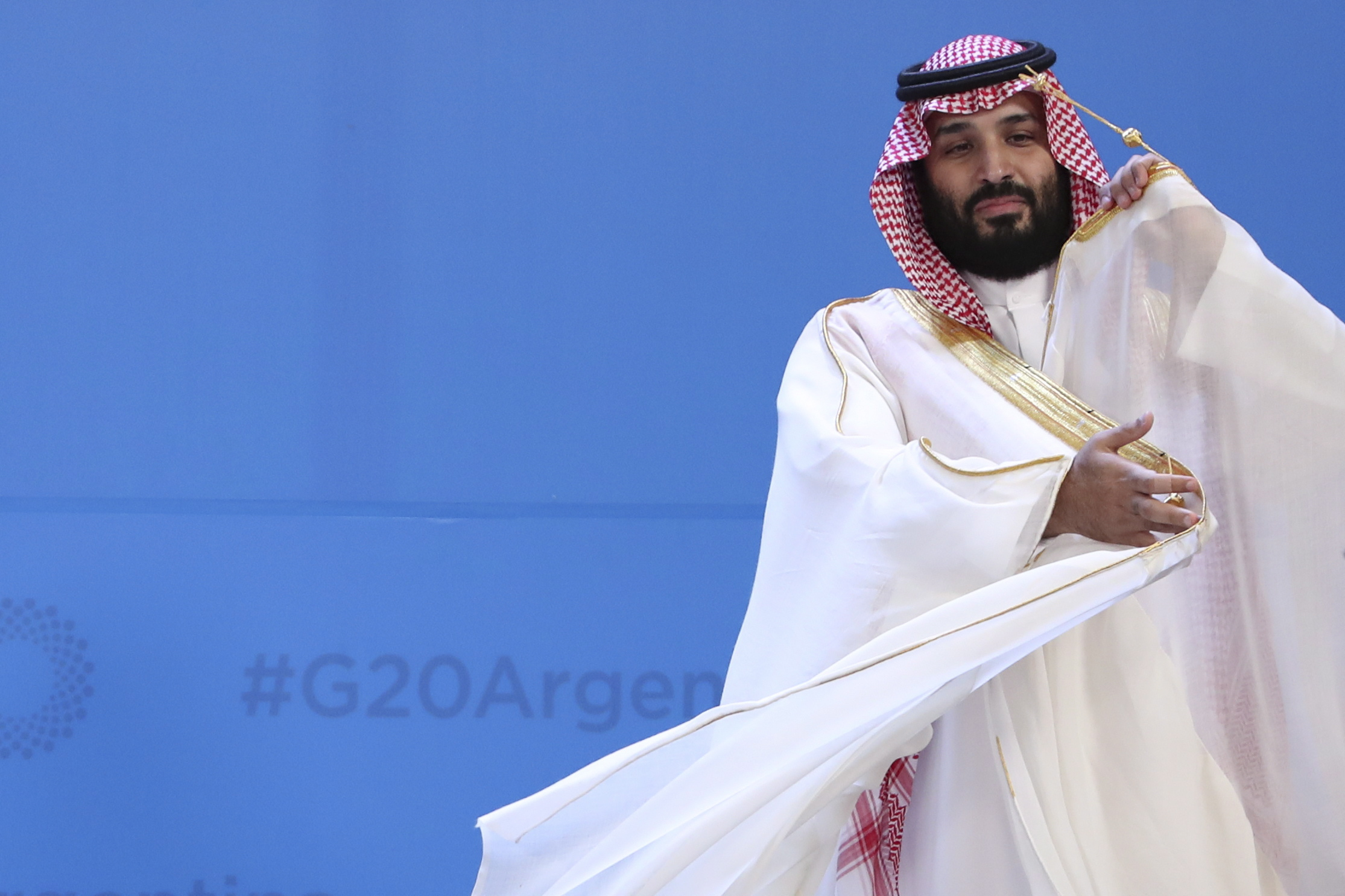 G20 Summit: May 'encourages' Saudi Arabia to co-operate in murder investigation