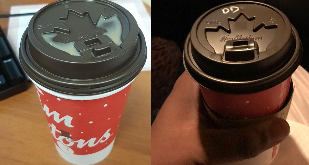 Tim Horton's will be going back to its original lids starting November
