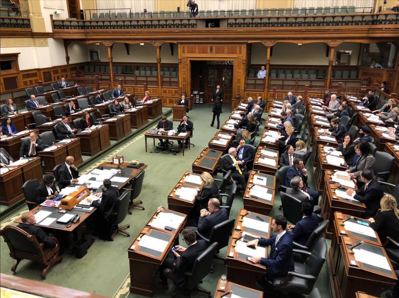 Ontario legislature returns after winter break, policing legislation expected