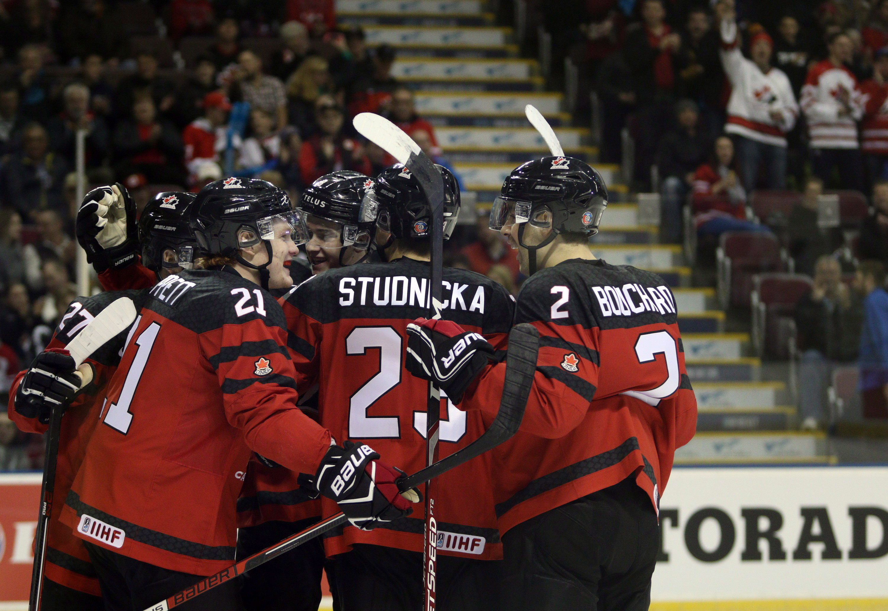 Team Canada Looks To Defend Hockey Gold Medal On Home Ice Starts