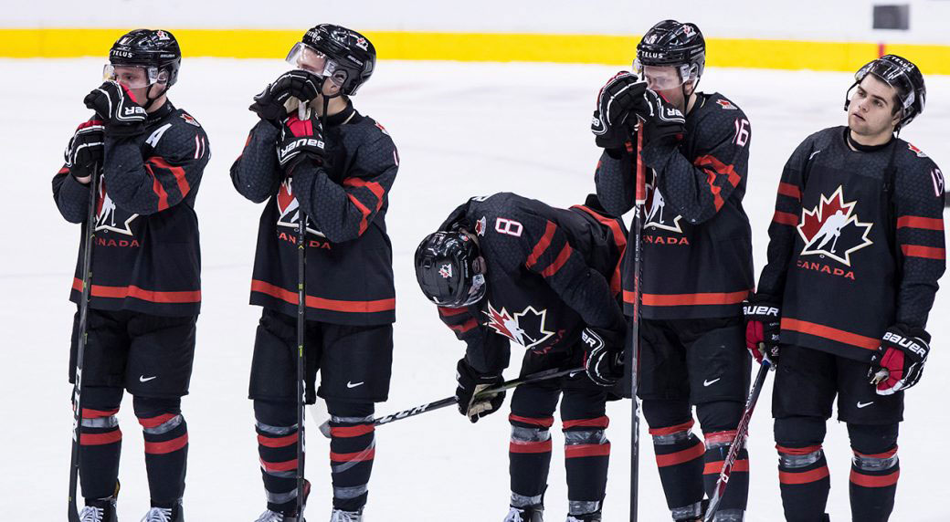Canada S Offence Disappears When Needed Most At World Juniors