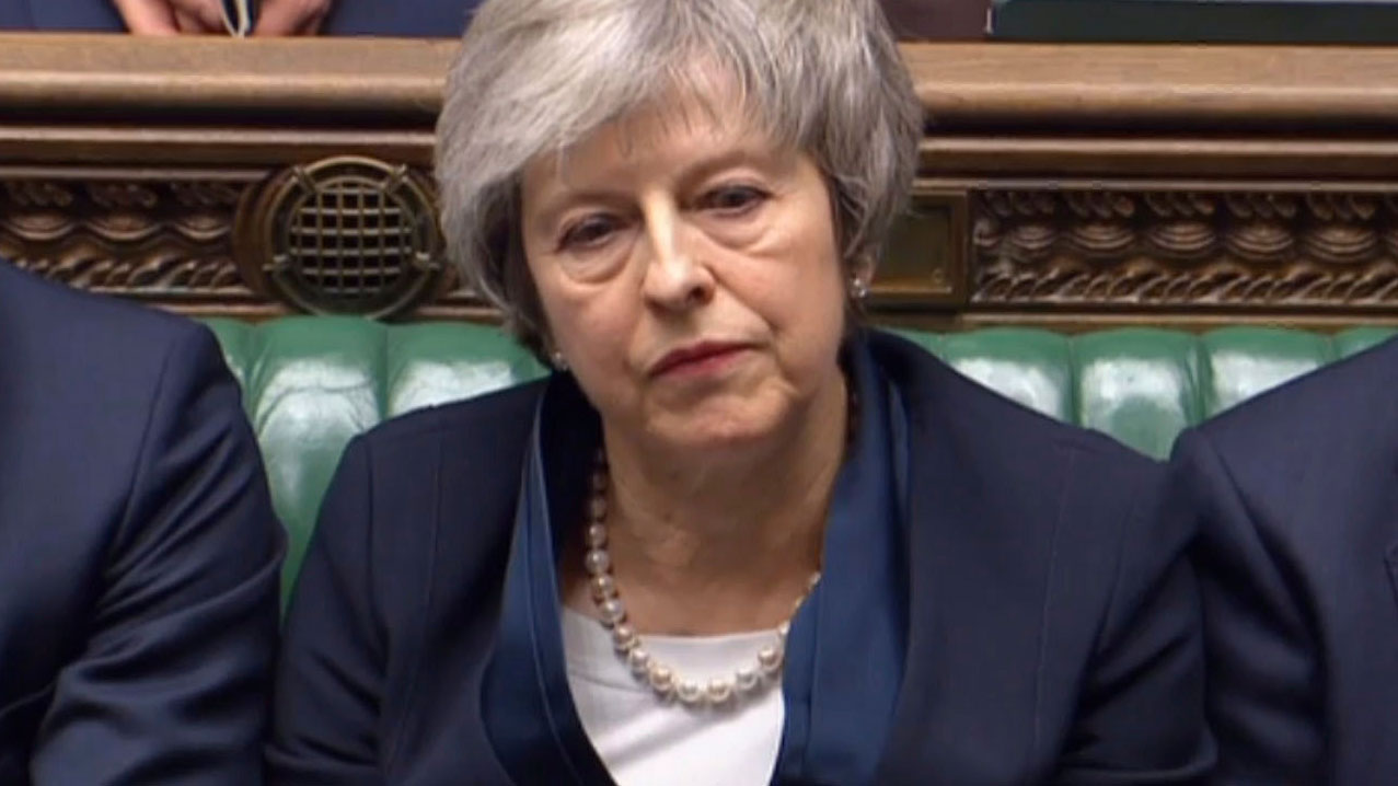 MPs defeat Theresa May's Brexit deal