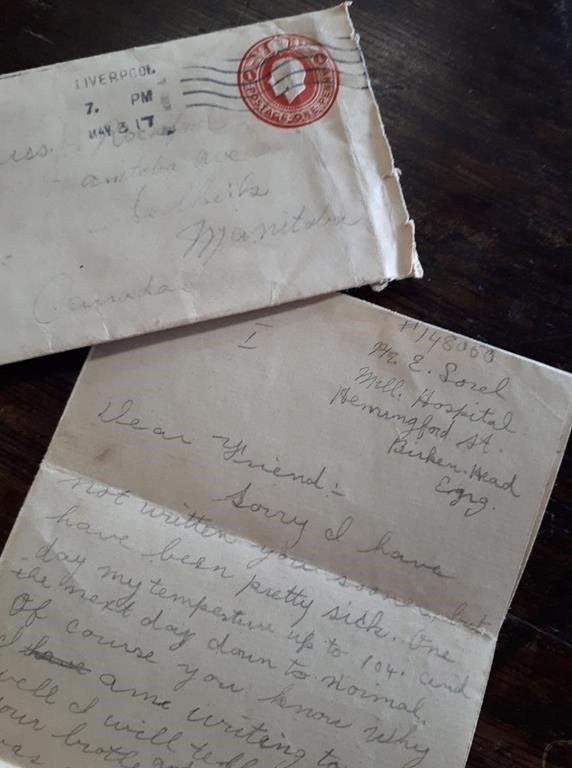 Families want First World War letter shared with public: antique