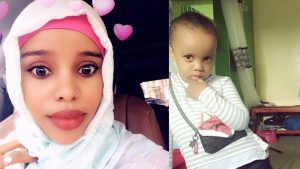 Amina Odowaa and her daughter Sofia Faisal Abdulkadir are seen in undated family handout photos.