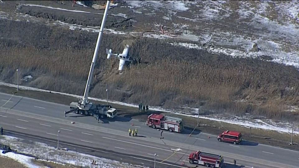 Small plane crashes near Buttonville airport, minor injuries