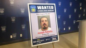 Joseph Pallotta, 38, wanted for first-degree murder