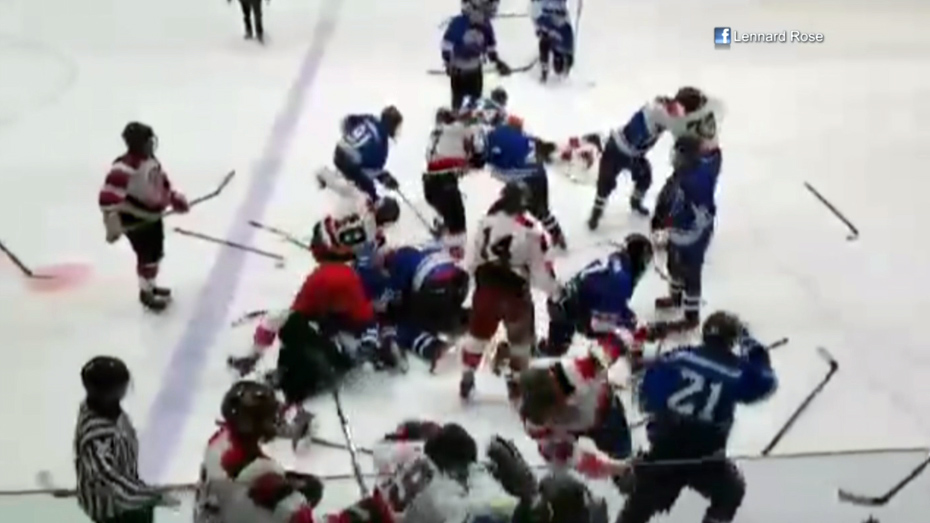 Police Investigate Youth Hockey Brawl In Mississauga