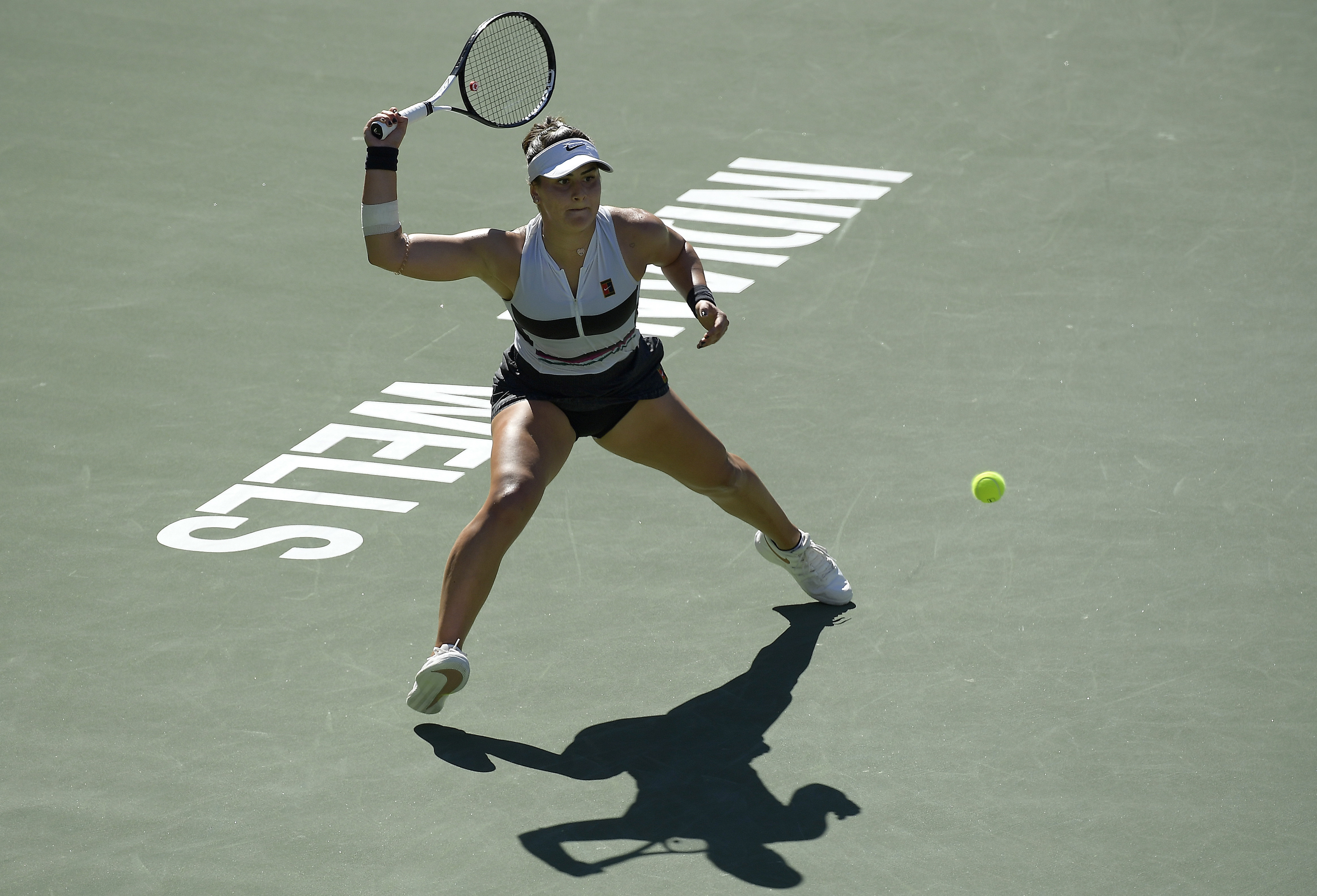 Kerber stops red-hot Bencic to reach Indian Wells final