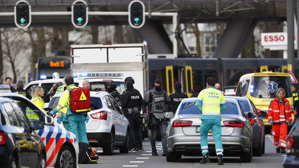 Utrecht tram shooting: Another man arrested over incident that killed three