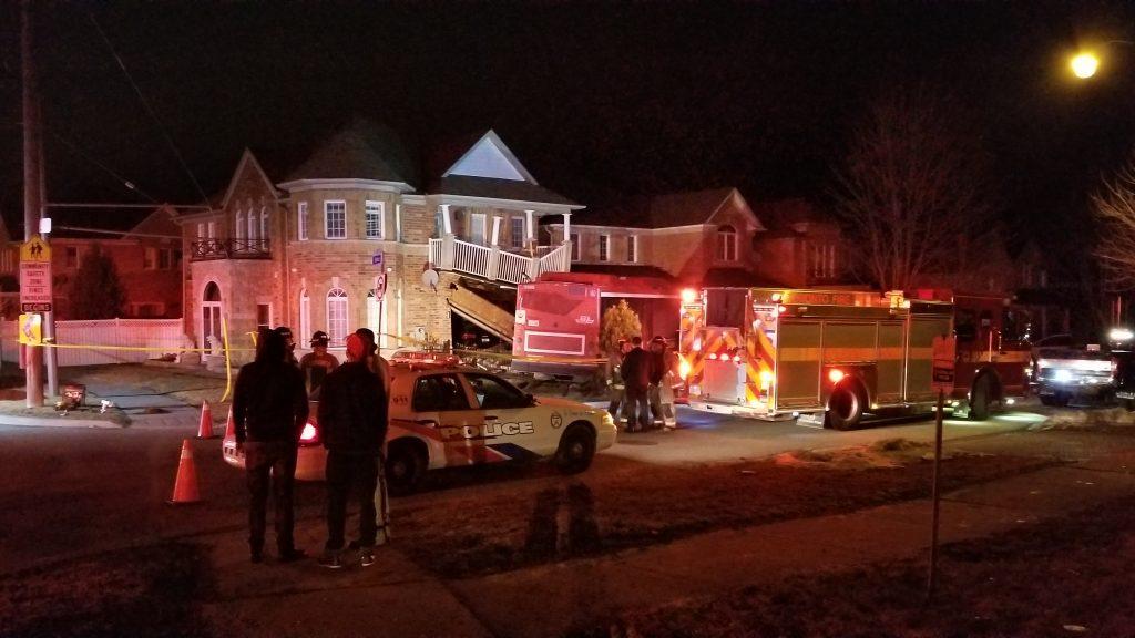 TTC bus crashes into Scarborough home