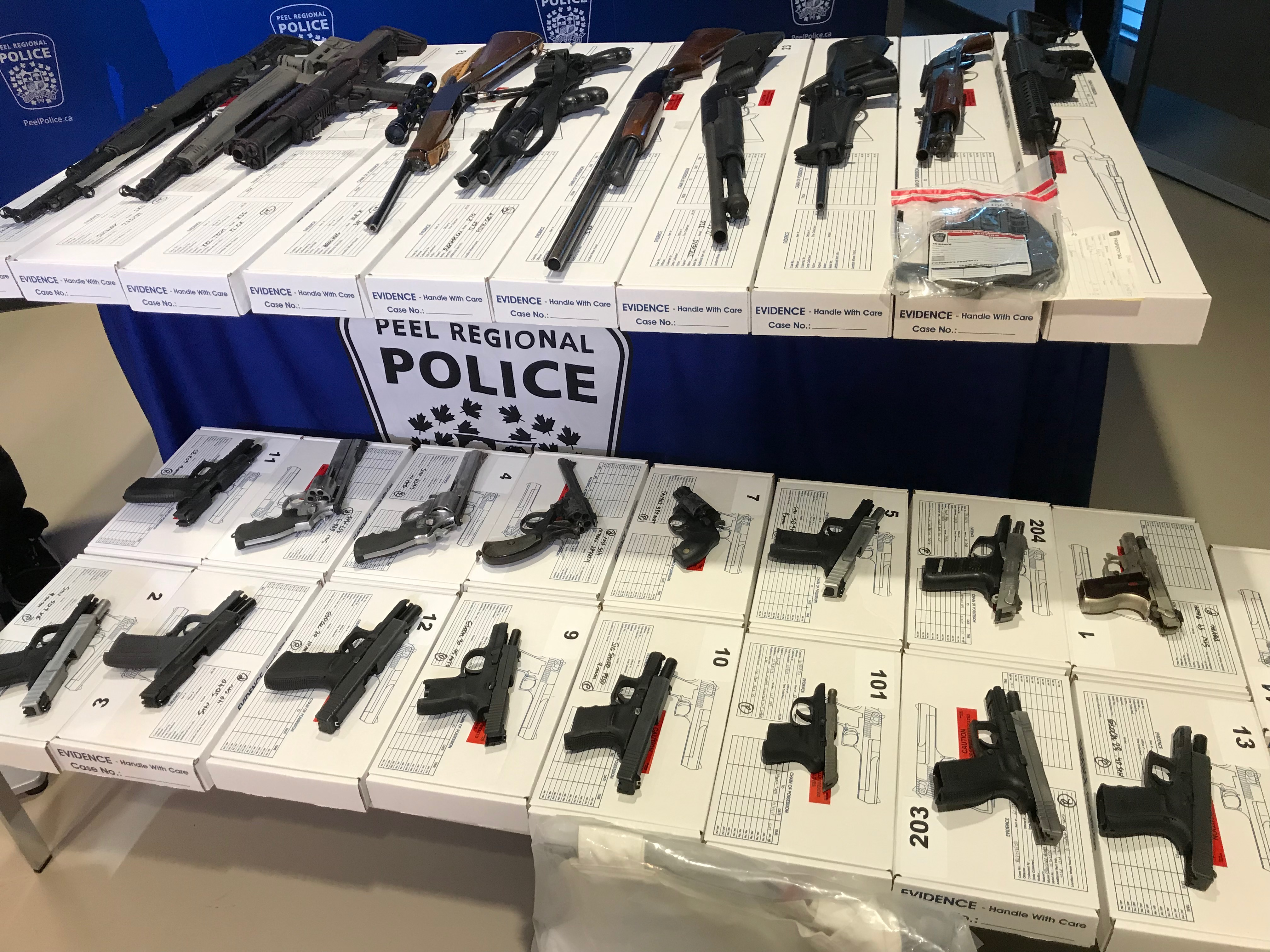 $1 2M worth of drugs and 26 firearms seized in Peel drug bust