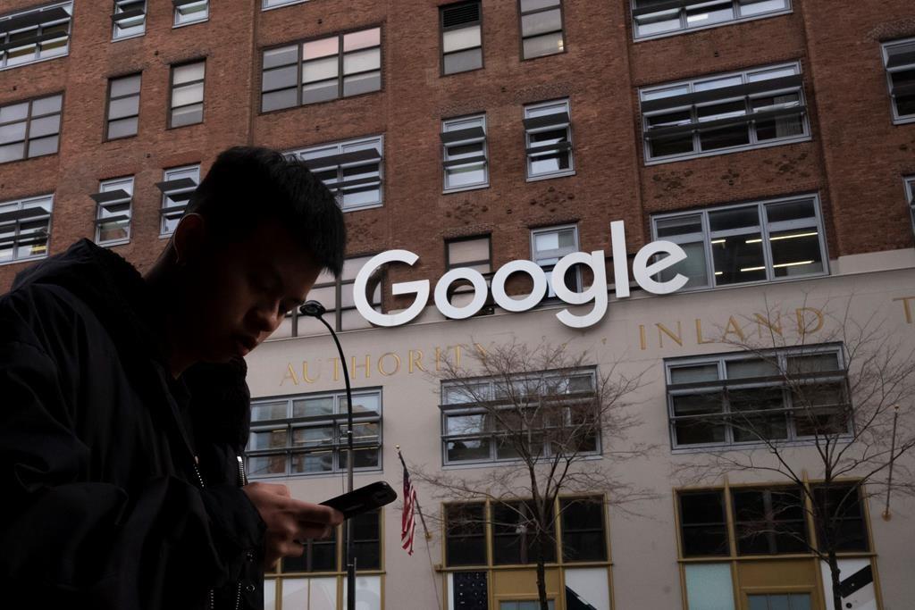 EU fines Google 1.49 billion euros in advertising case