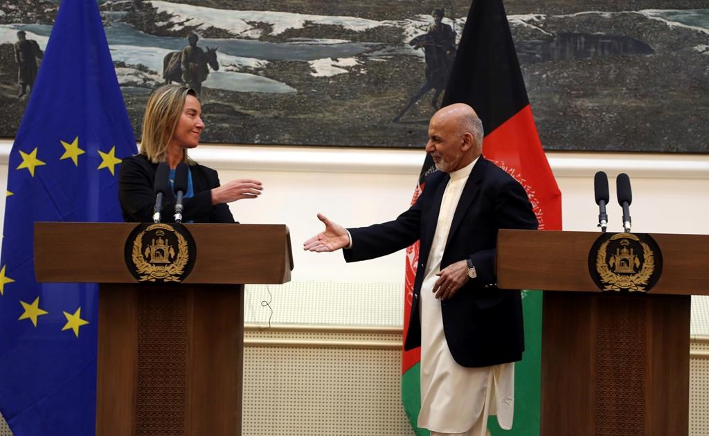 EU official backs key role for Kabul in talks with Taliban