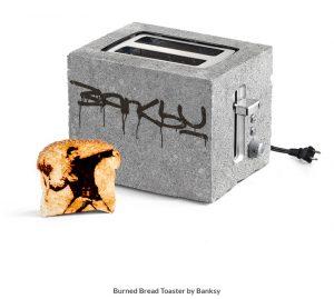 Banksy Art Toaster by ThinkGeek