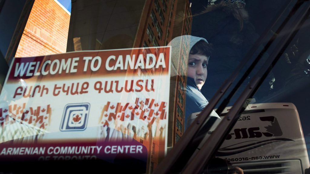 Trudeau's 'Welcome To Canada': three years later
