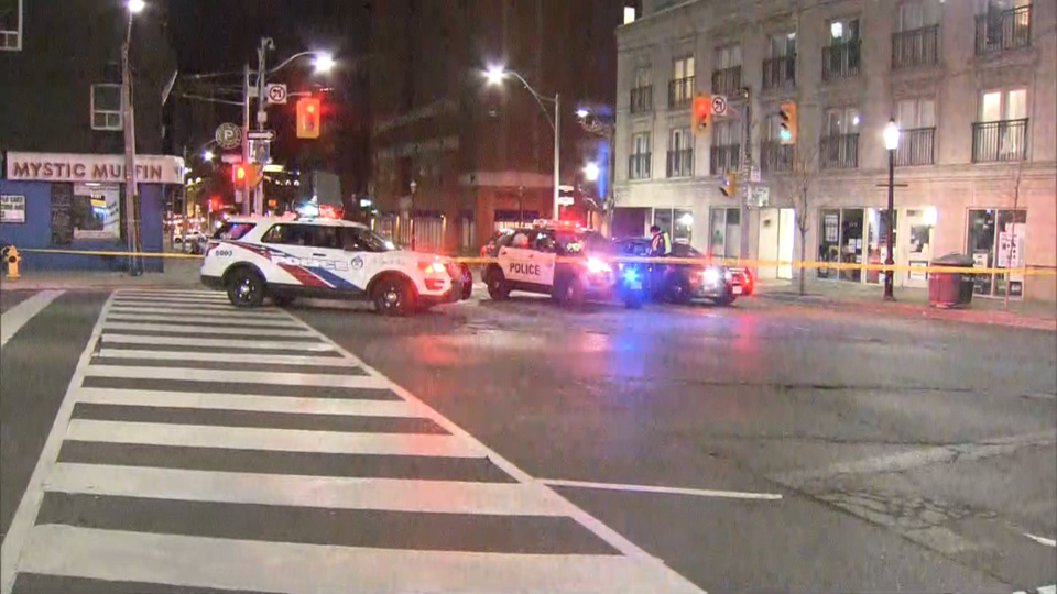 1 injured in hit-and-run near St  Lawrence Market