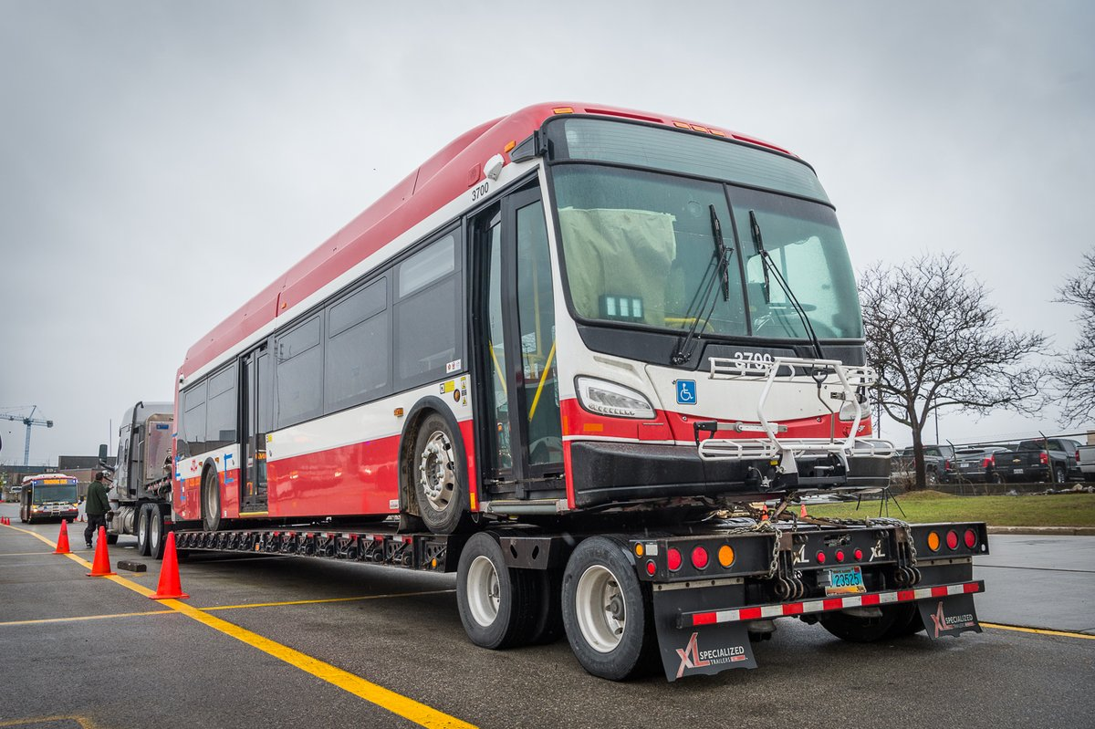 TTC's first zero emission electric bus delivered