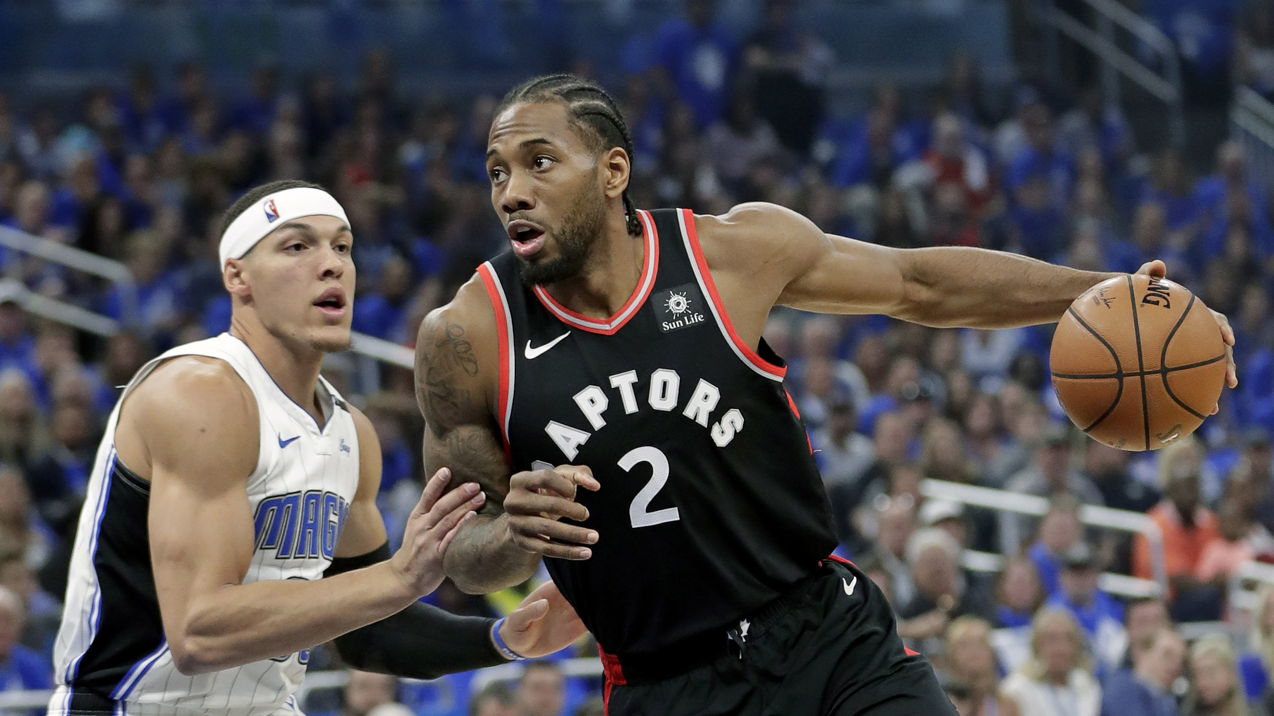 Toronto looks to secure series against Orlando in game 5