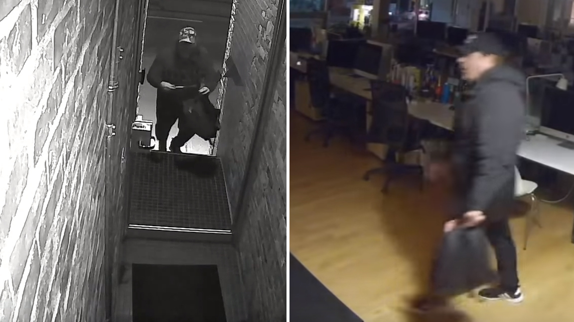 Police release more video of break and enter suspect