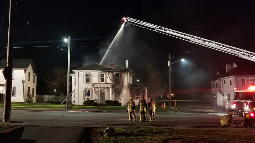 Fire at Oshawa home