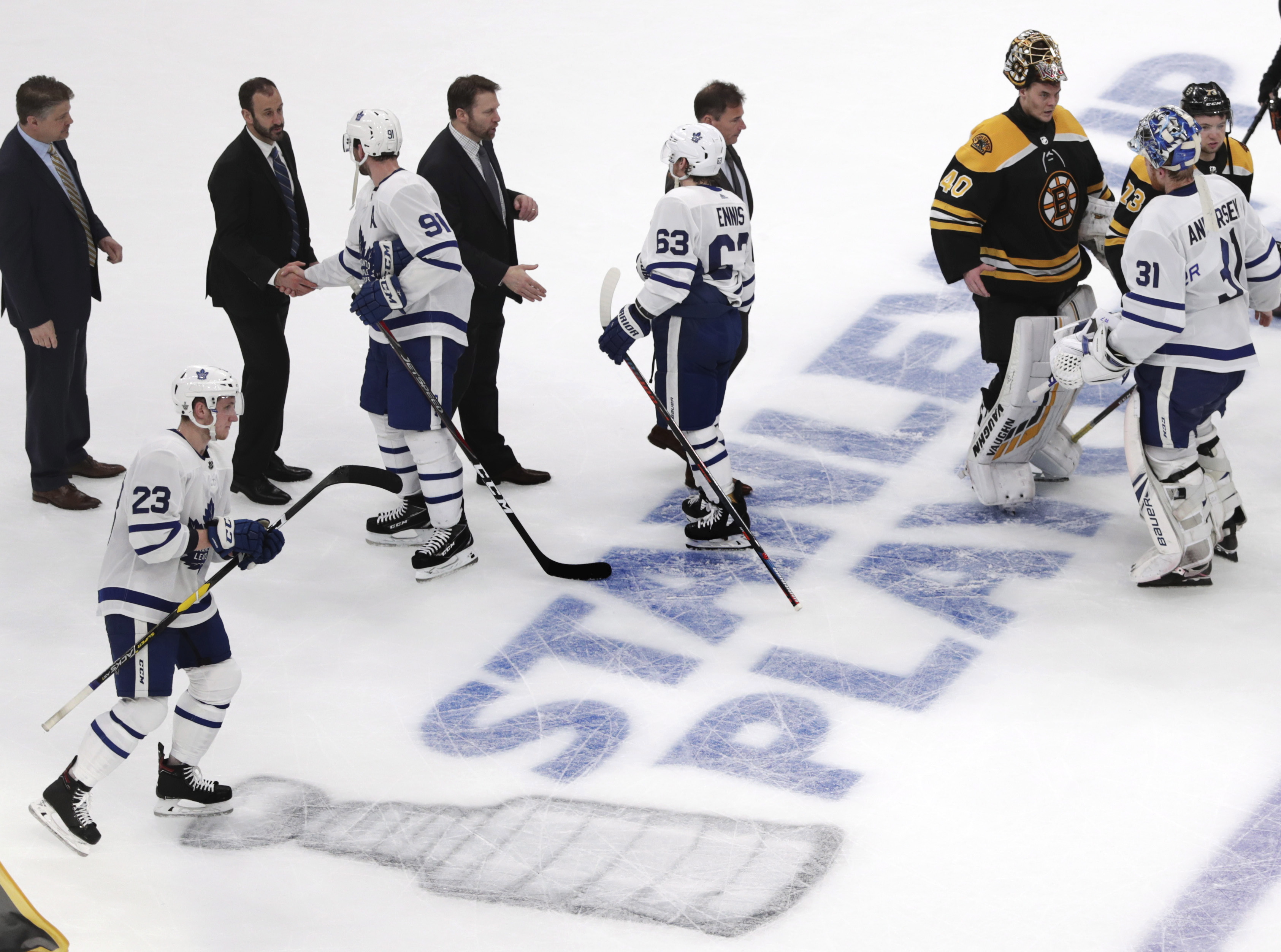 Bruins Down Maple Leafs 5 1 In Another Game 7 No Canadian Playoff Teams Left Citynews Toronto