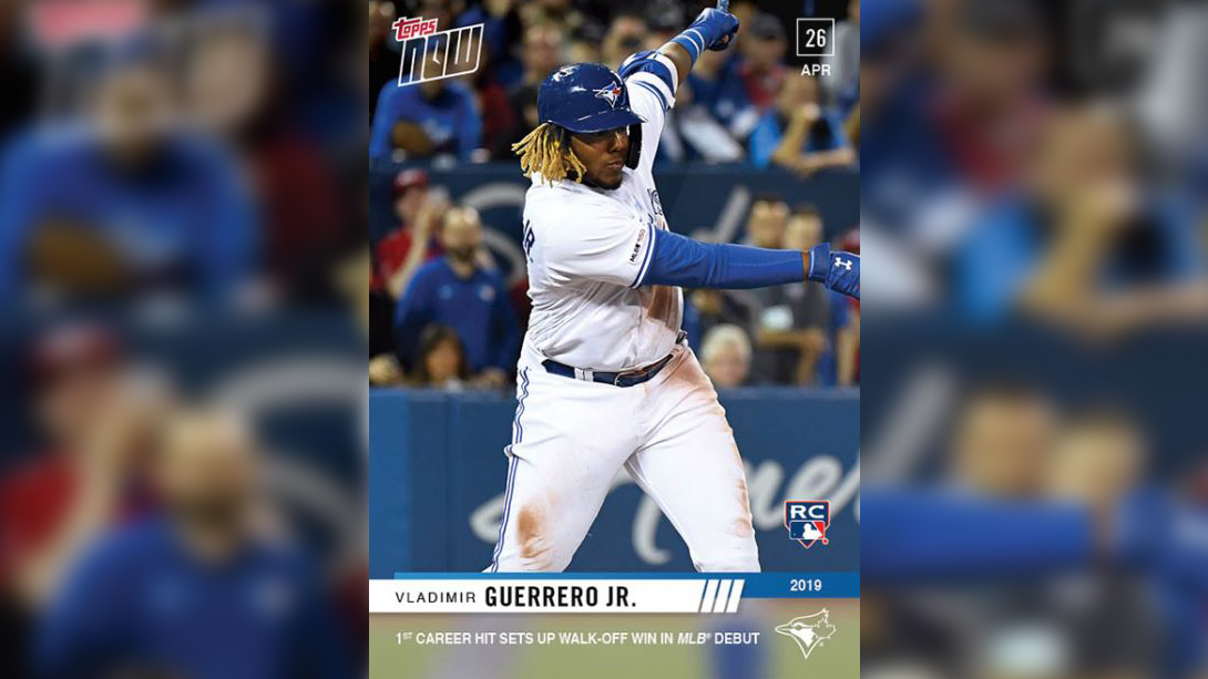 Vlad Jr Rookie Card Breaks Topps Sales Records