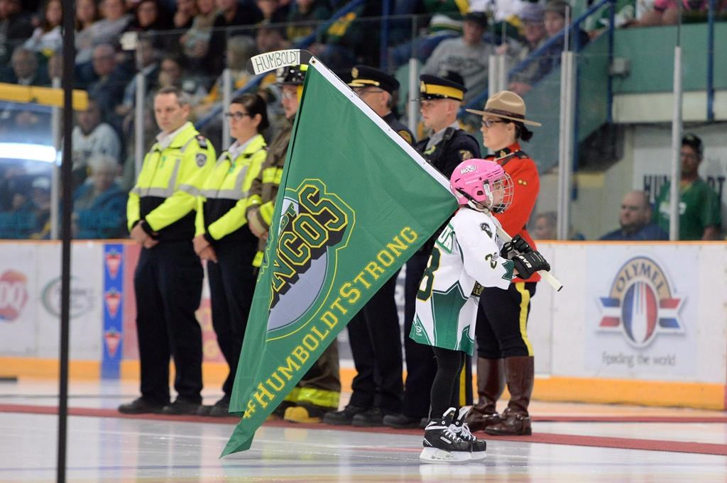 Names Of Humboldt Broncos Crash Victims Remembered In Scholarships