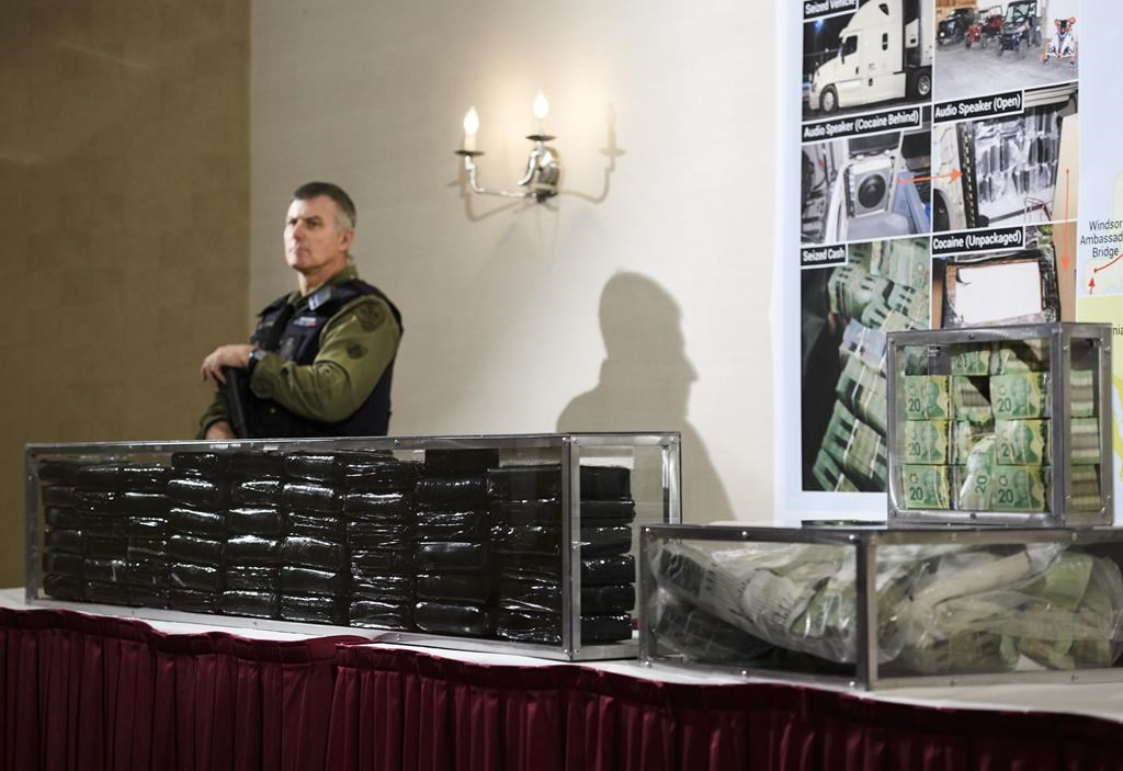 Ontario police bust international drug ring, seize 55 kilos