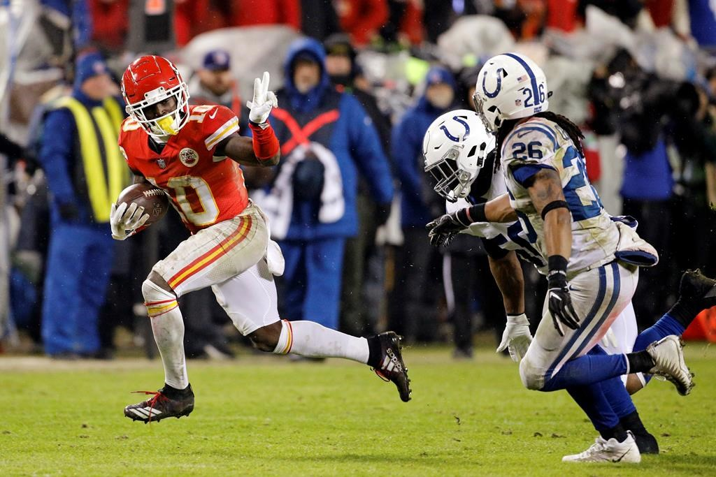 e304bcd3 Police reportedly called to home of Chiefs' Tyreek Hill
