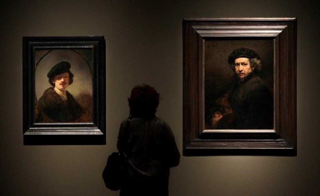 Dutch soccer league dedicates official ball to Rembrandt