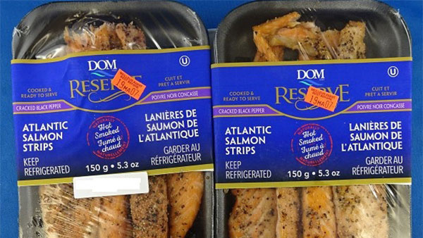Brand of salmon strips recalled due to listeria concerns