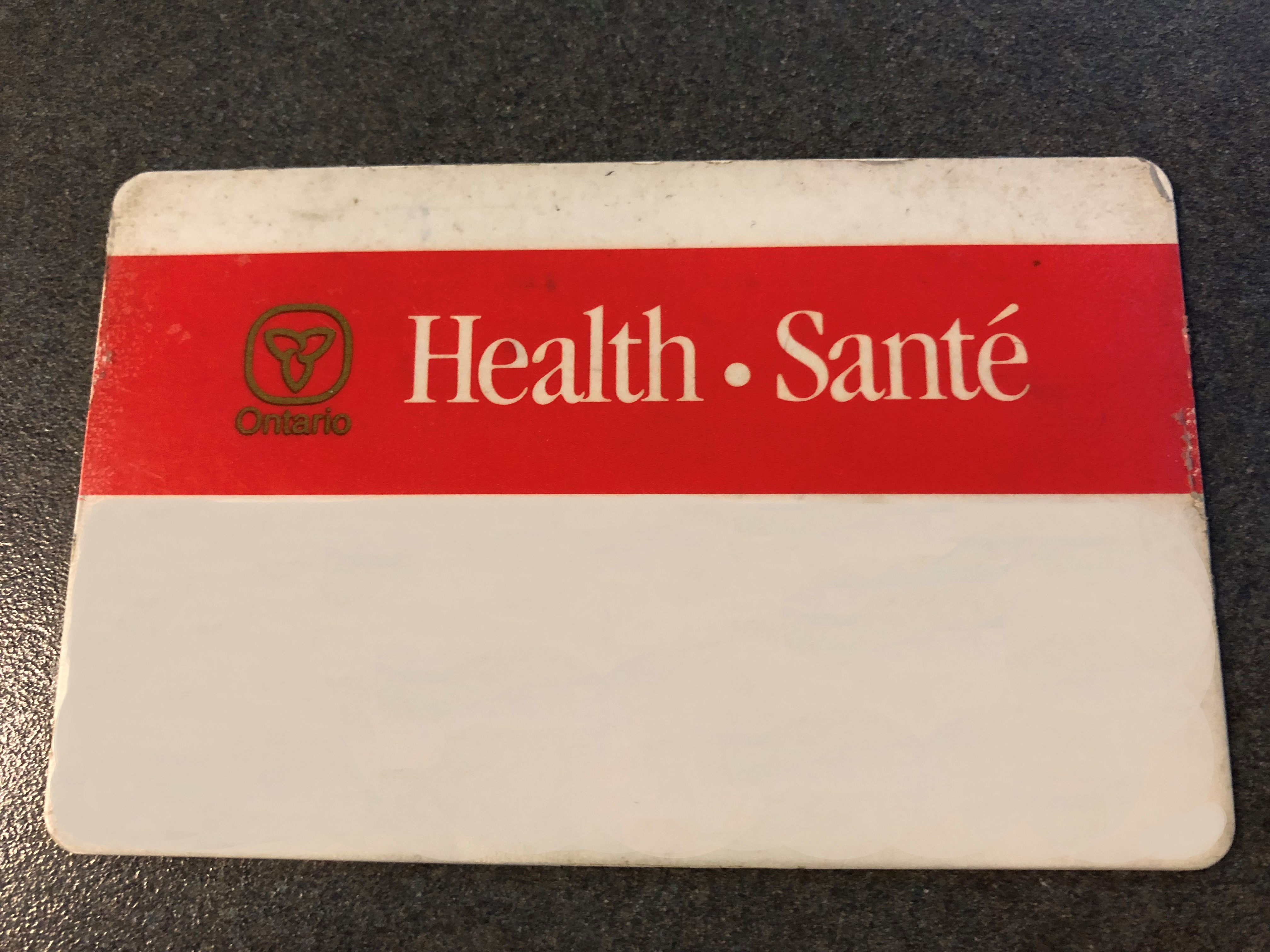 Province Working On Firm Date To Cancel Red And White Health Cards
