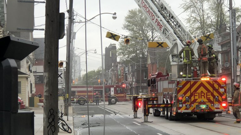 Squirrel causes east end transformer fire that led to power outage