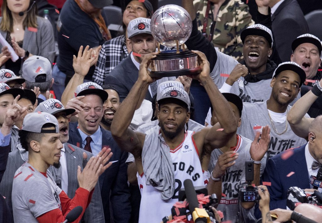Toronto Raptors advance to NBA finals, first Canadian team in history