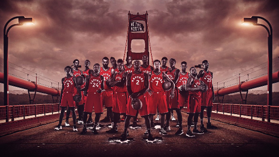 Raptors' knowledge of Bay Area geography challenged on Twitter