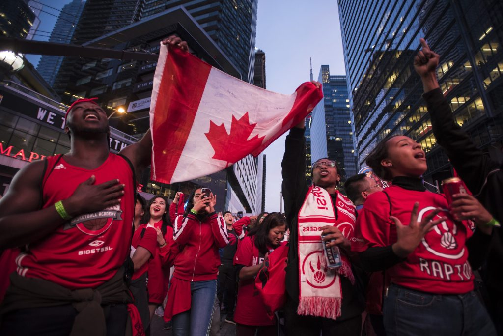 Raptors fans prepare for Monday's potentially championship clinching game