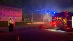 Oshawa garage fire