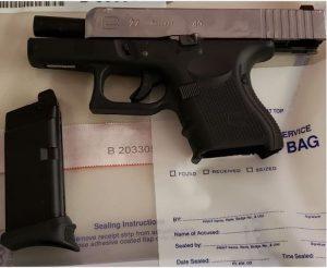 Firearm seized in investigation. HANDOUT/Toronto Police Service