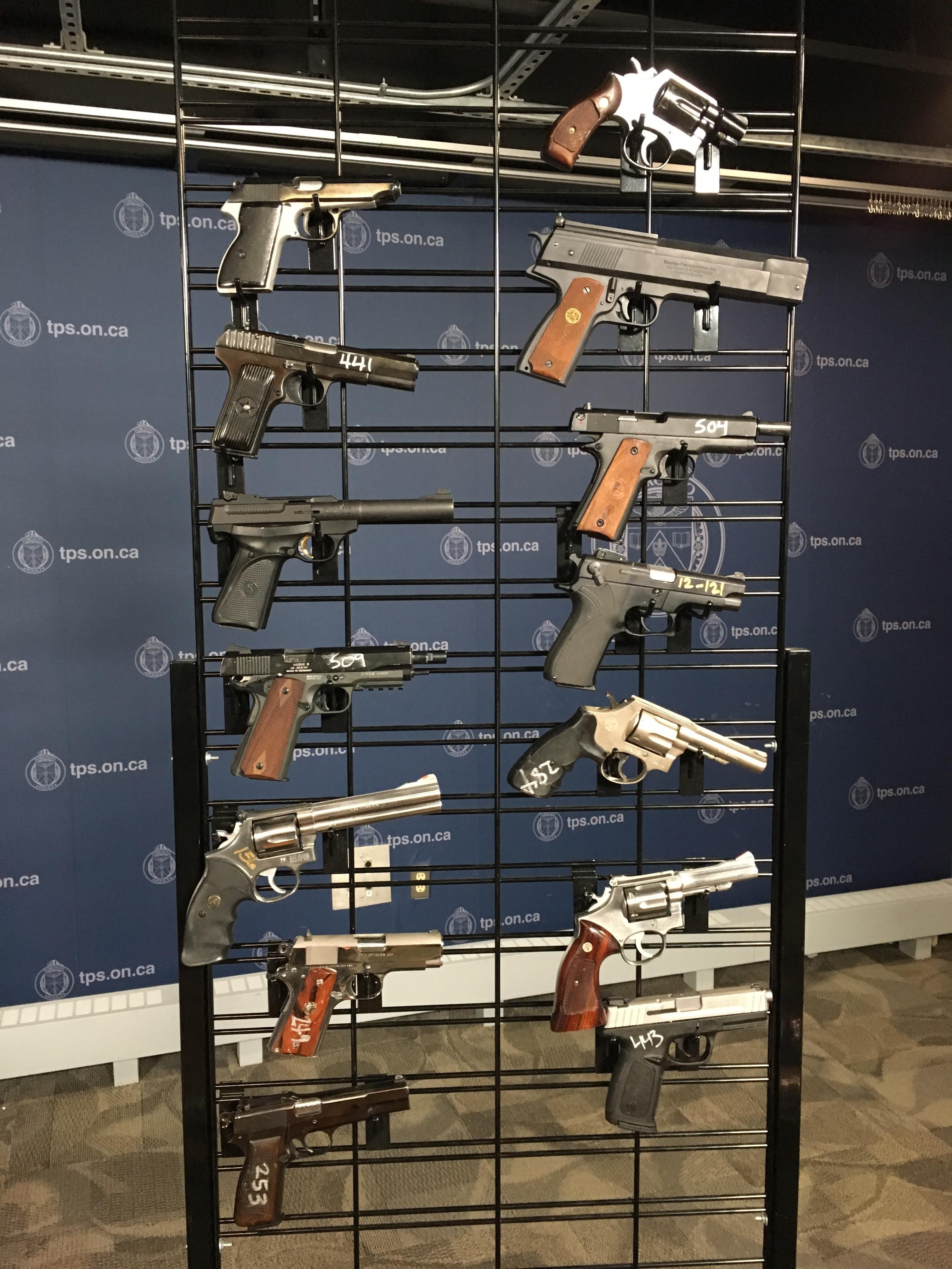Over 3,100 guns surrendered to police during gun buyback program