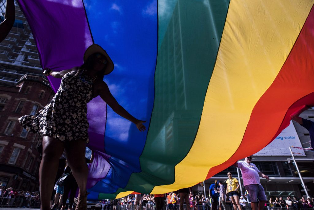 Pride parade culmination of month-long festivities in Toronto