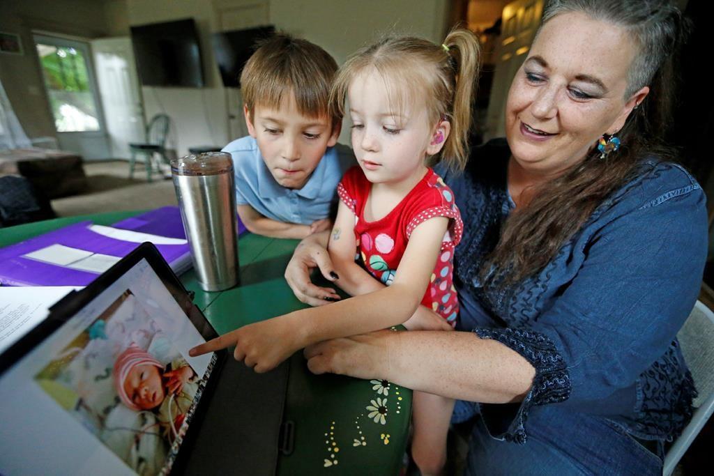 Lovingly, a family raises an intersex child - again
