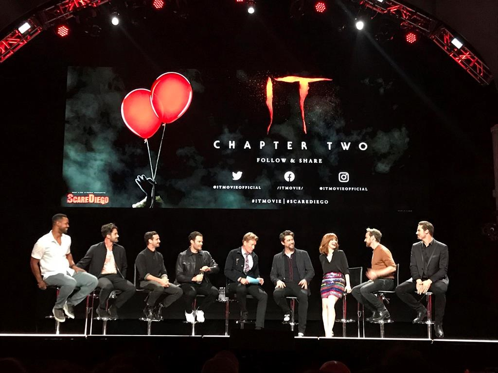 It Chapter Two Cast Talks Intense Shoot At Comic Con