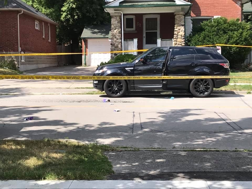 SUV found with bullet holes in North York neighbourhood
