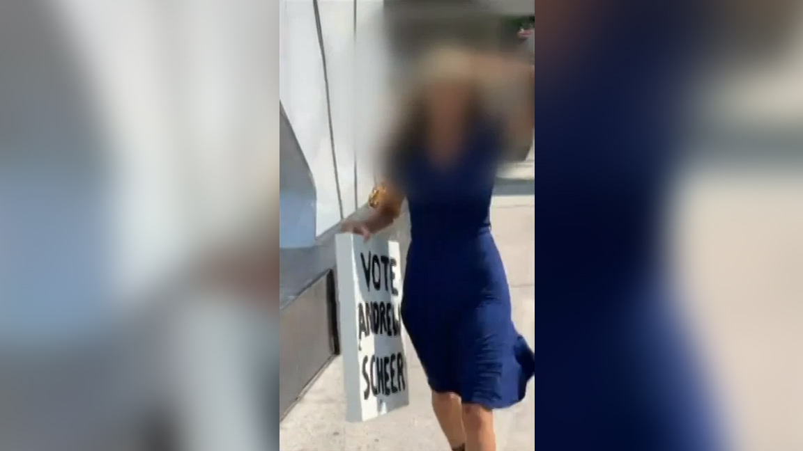 Woman to face charges after allegedly uttering racial slurs