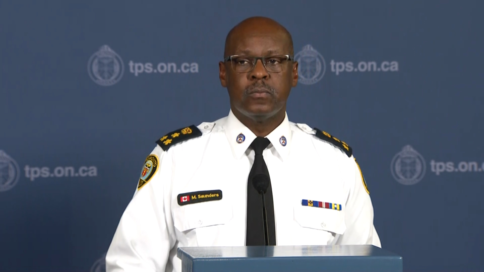 Toronto's police chief to unveil plan to combat gun and gang violence