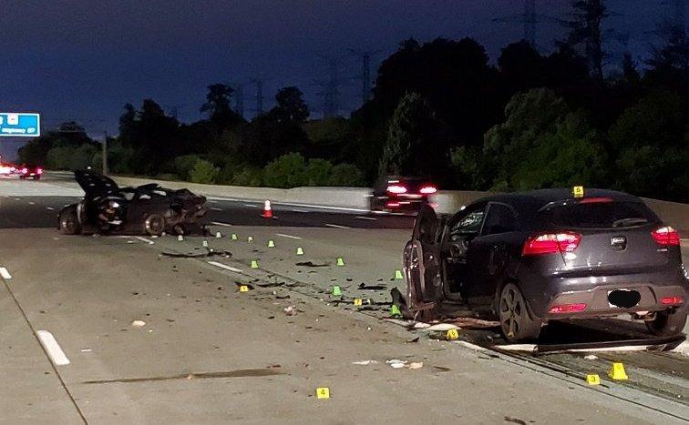 19-year-old critically injured in Hwy  407 crash
