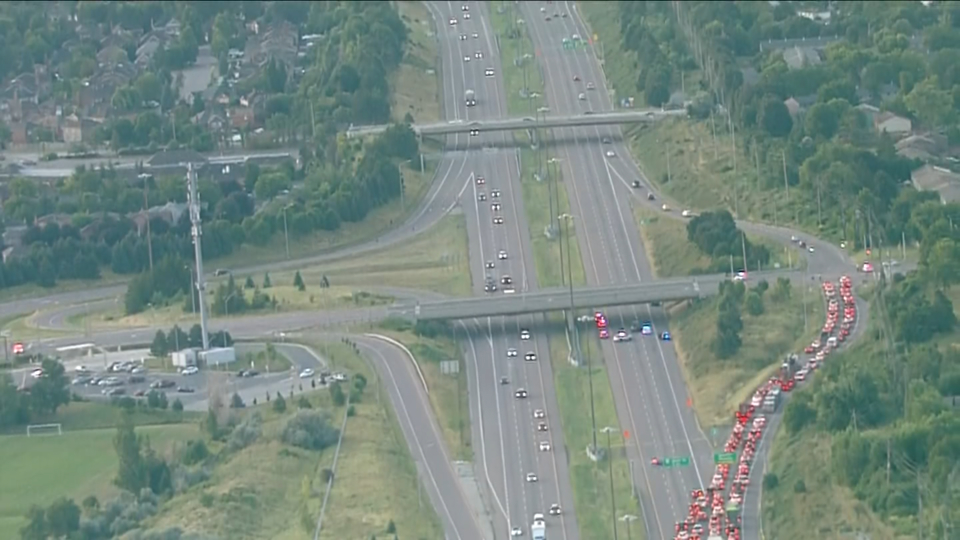 Police investigate after body found on Hwy  410
