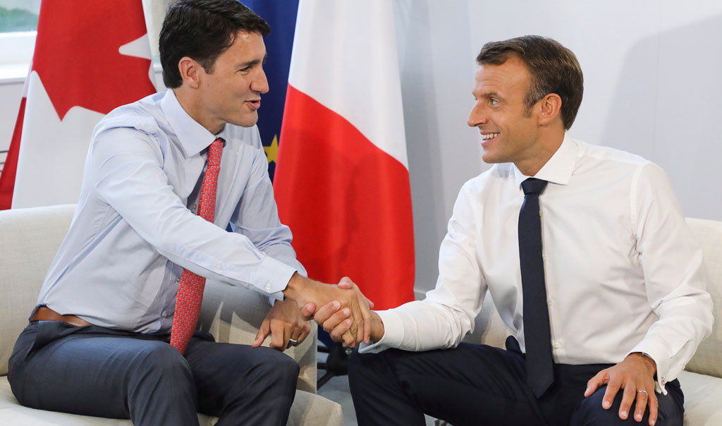 Trudeau Meets With Macron As G7 Leaders Wrap Up Meeting In France Citynews Toronto