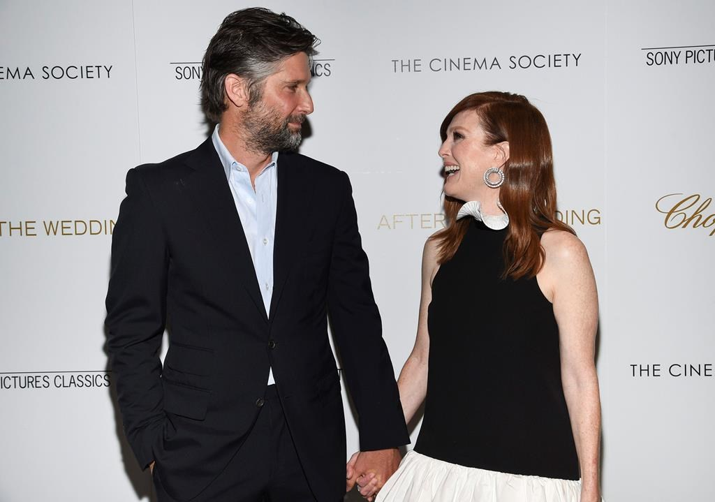 After The Wedding.After The Wedding Was A Family Affair For Julianne Moore