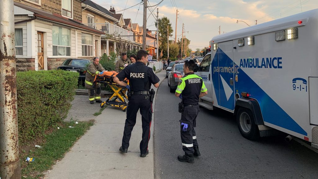Woman seriously injured after being struck by car
